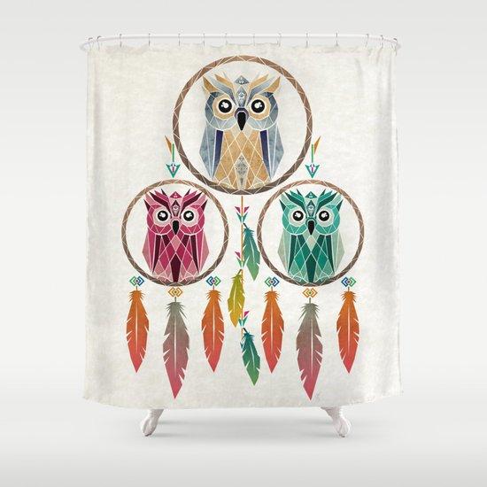 dream owl Shower Curtain