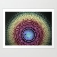 Imperceivable Worlds Art Print