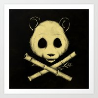 The Jolly Panda Art Print