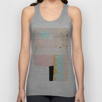 On the wall#3 Unisex Tank Top