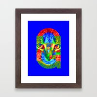 OMG-Sir Parker Framed Art Print