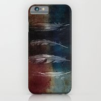 Rusty Feathers iPhone 6 Slim Case
