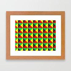 Vermeyden Pattern Framed Art Print
