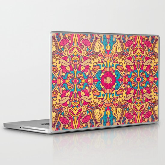 Eye Of The Beast Pattern Laptop & iPad Skin