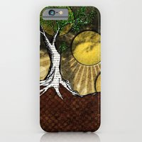 iPhone & iPod Case featuring Sunrise Tree by Leon Greiner