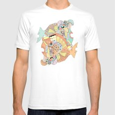 blowfish SMALL White Mens Fitted Tee