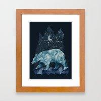 The Great Bear Framed Art Print