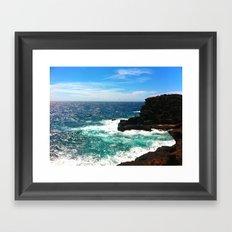 Waves... Framed Art Print