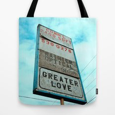 Greater love Tote Bag