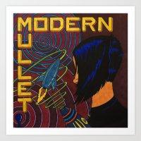 Modern Mullet Art Print