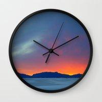 Second Earth Wall Clock