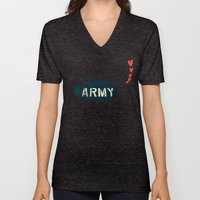 The Love Army Unisex V-Neck