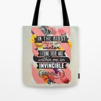 The Invincible Summer Tote Bag