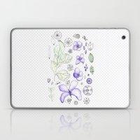 Violet Watercolor Laptop & iPad Skin