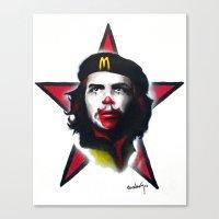 Mc Che Guevara, Eusebio … Canvas Print