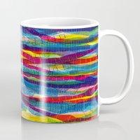 stripes traffic Mug