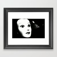 JAWN. Framed Art Print
