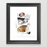 Des21 Framed Art Print