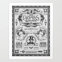 Legend Of Zelda Bomb Adv… Art Print