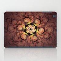 Little Pink Swirls iPad Case