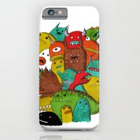 iPhone & iPod Case featuring Mile-End Monsters by Tyson Bodnarchuk