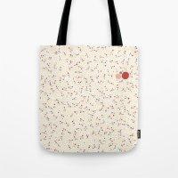 Light Background Dot Color Design Tote Bag