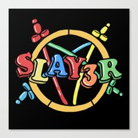 Slayer—For Kids! Canvas Print