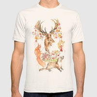 Autumn Mens Fitted Tee Natural SMALL