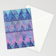 Layered Triangles 2 Stationery Cards