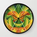 Summer Spiral Wall Clock