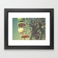 Tibidabo Dreams Framed Art Print