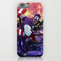 iPhone & iPod Case featuring Captain America by Artless Arts