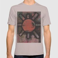SUN Mens Fitted Tee Cinder SMALL