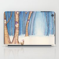 Snow Birds iPad Case