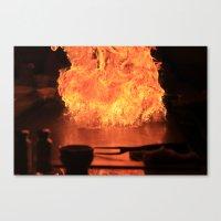 Fire Fire Fire Canvas Print