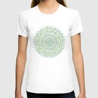 Doily Womens Fitted Tee White SMALL