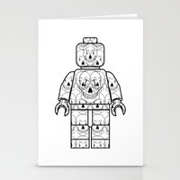 Skull-Brick Stationery Cards
