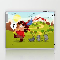 The Pied Piper of Hamelin  Laptop & iPad Skin