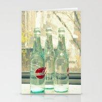 Rainy Day ~ Vintage Soda… Stationery Cards