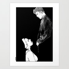 asc 274 - La possession de Marie Magdala (The possession of Mary Magdalene) Art Print