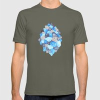 The Past Is Like An Echo Mens Fitted Tee Lieutenant SMALL