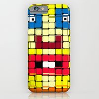 Pixelgesicht. iPhone 6 Slim Case