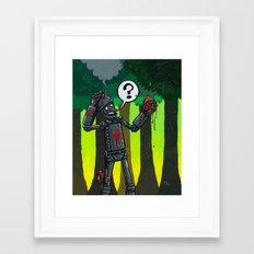 Now What?! Framed Art Print