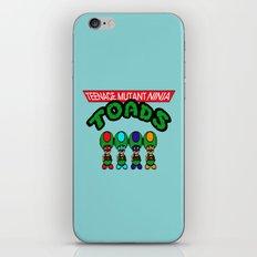 Teenage Mutant Ninja Toads iPhone & iPod Skin