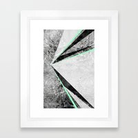 GEO BURST II Framed Art Print