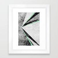 GEO BURST II Framed Art Print