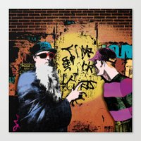 Education of the innocent Canvas Print
