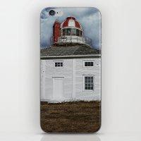 Lighthouse in Newfoundland, Canada iPhone & iPod Skin