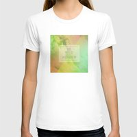Be Wild Womens Fitted Tee White SMALL