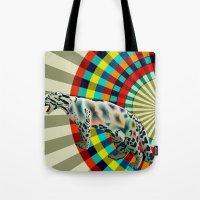 Clouded ( Rainbow ) Leop… Tote Bag